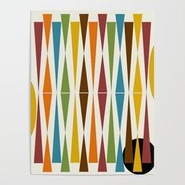 Mid-Century Modern Art 1.4 Poster