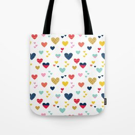 cheerful hearts Tote Bag