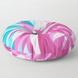 Flamingo art Floor Pillow
