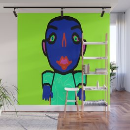 Hypno Boy, created by Mickeys Art And Design. Wall Mural