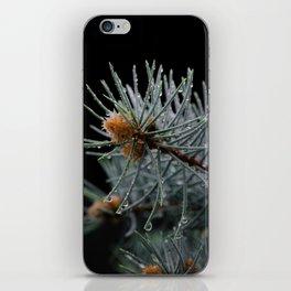 Autumn rain iPhone Skin