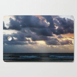 Dramatic Beach Sunset Cutting Board