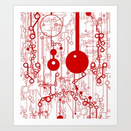 Synapsi Art Print
