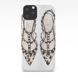 LEOPARD HEELS iPhone Case