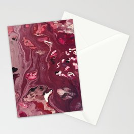 Mulberry Abstract Stationery Cards