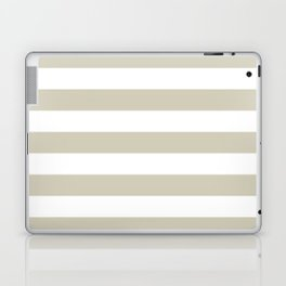 Beach Sand and White Stripes Laptop & iPad Skin