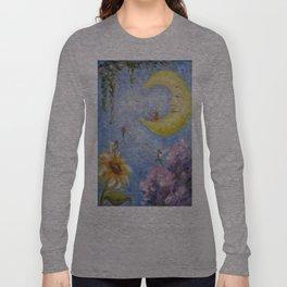 Moon and Fairies Long Sleeve T-shirt