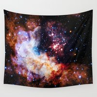 galaxy Wall Tapestries featuring gALaxy  by 2sweet4words Designs