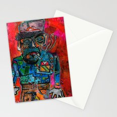 Brick Layer Stationery Cards