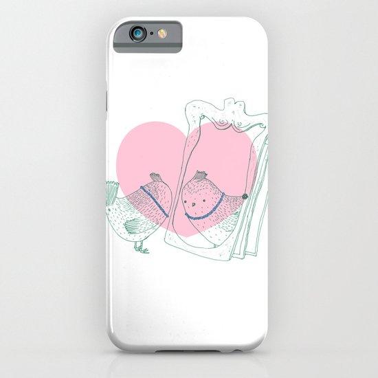 Lark mirror. iPhone & iPod Case
