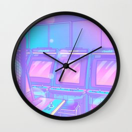 NEONPOLIS Wall Clock