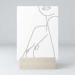 Nude Line Mini Art Print