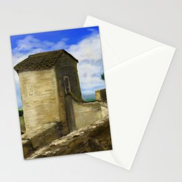 Puycelci Tower DP170319a-14 Stationery Cards
