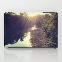 river iPad Cases featuring River by Spencer Martin