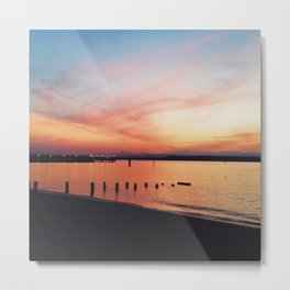 EDMONDS SUNSET Metal Print