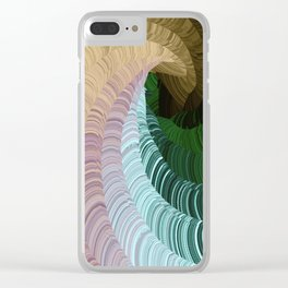 Rollercoaster Clear iPhone Case
