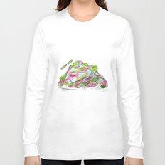 Delta Zeta Pearl Long Sleeve T-shirt