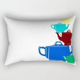 Favoriteware Stacked Pots Rectangular Pillow