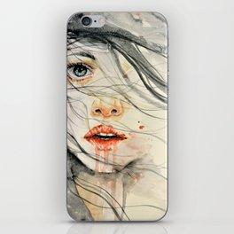 Bleed iPhone Skin