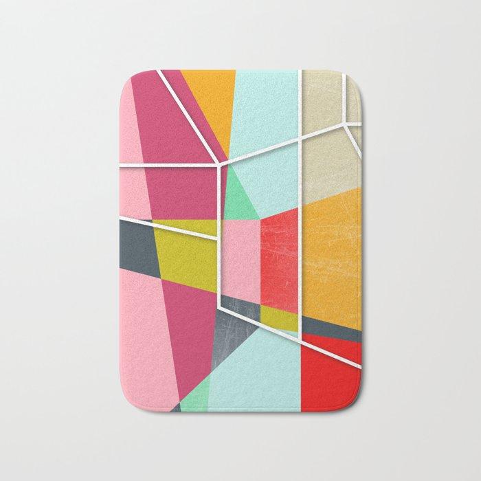 ColorBlock V Bath Mat