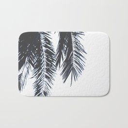 Palm Tree leaves abstract Bath Mat