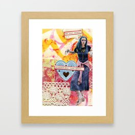 Celebrate Your Inner Artist Framed Art Print