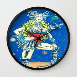 Bad Girls of Motion Pictures #1 - Saint Exmin Wall Clock