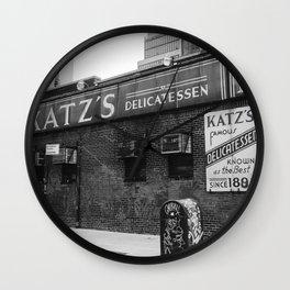 Katz V Wall Clock