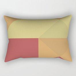Fall Geometric Rectangular Pillow