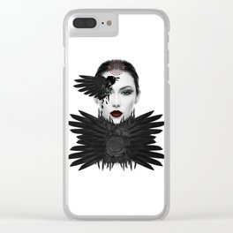 Weeping Gaia Clear iPhone Case