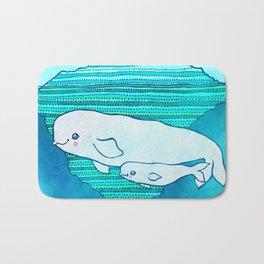 Belugas Bath Mat