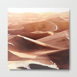 Cold Dunes Metal Print
