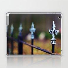 St. Louis Fleur de Lis Fence Laptop & iPad Skin
