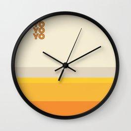 yo Wall Clock