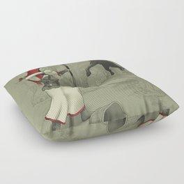 Little Red Robin Hood Floor Pillow