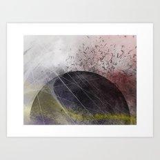 Universe (version 2)  Art Print
