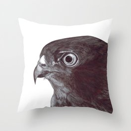 Sparrowhawk Throw Pillow
