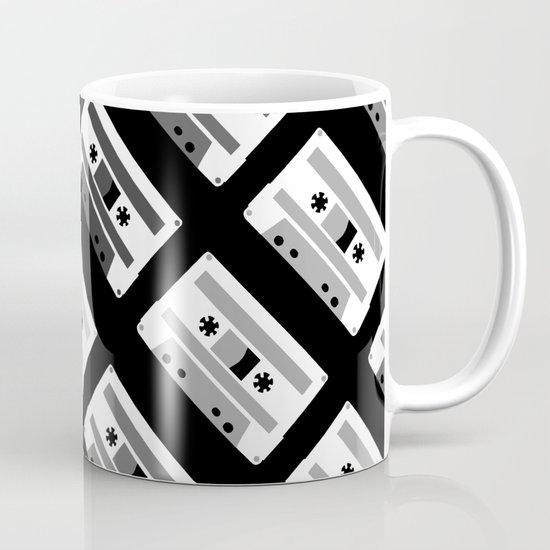 Black and White Tapes 45 Coffee Mug