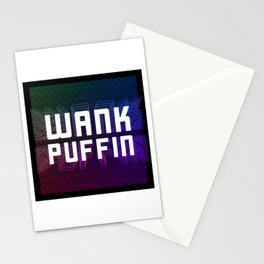 Wank Puffin. Longworth's Lament Colours Stationery Cards