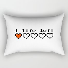 1 live left Rectangular Pillow