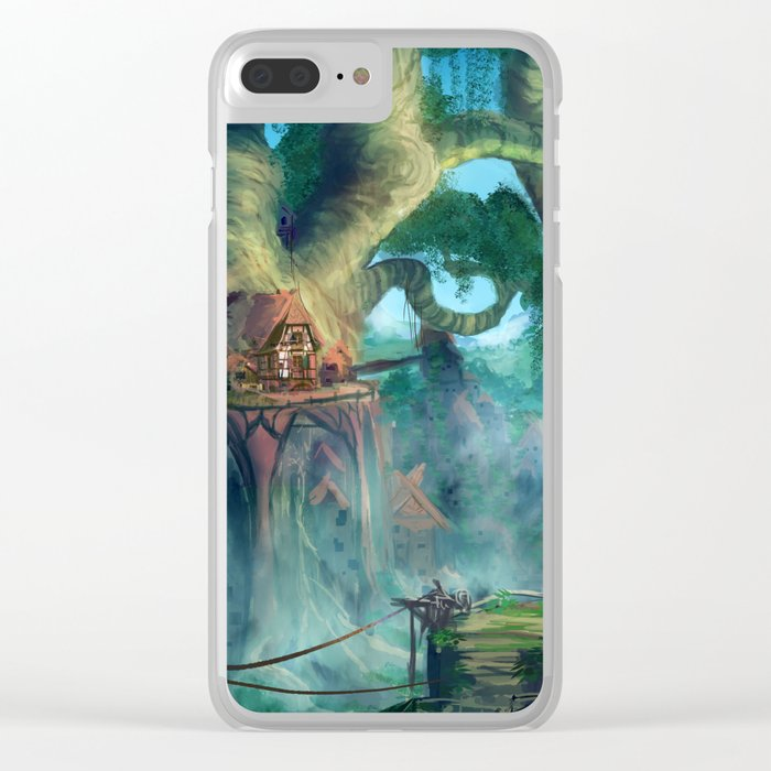 Lost Civilization Clear iPhone Case