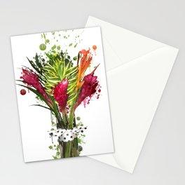 Zomie Flowers Stationery Cards