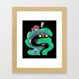 Special Delivery Framed Art Print