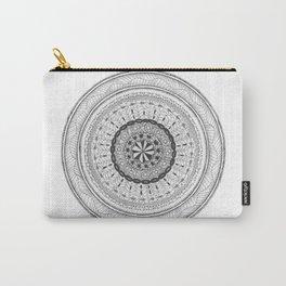 Zendala - Zentangle®-Inspired Art - ZIA 17 Carry-All Pouch