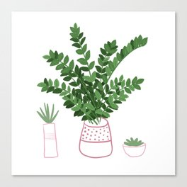 ZZ House Plant Canvas Print