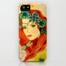 Goddess of The Sparkly Meadows iPhone Case