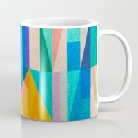 climbing Mugs featuring By Climbing Colors by Fernando Vieira