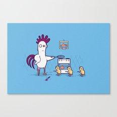 Chicken for dinner Canvas Print