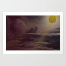 Bright Skies Art Print