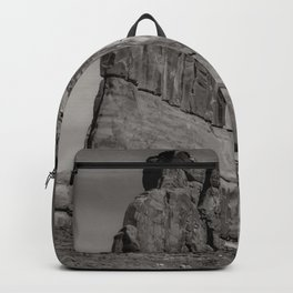 B&W Courthouse rock Backpack